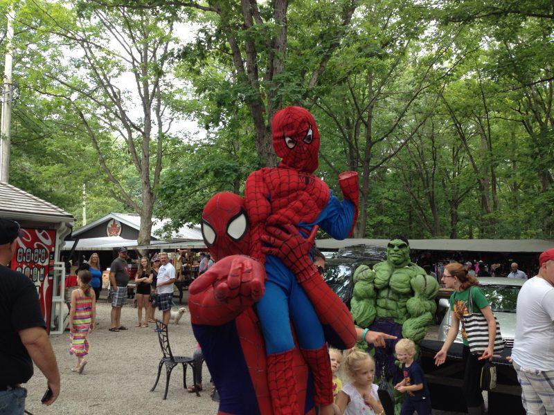Super Hero Sunday Grand Bend Fun for the Kids
