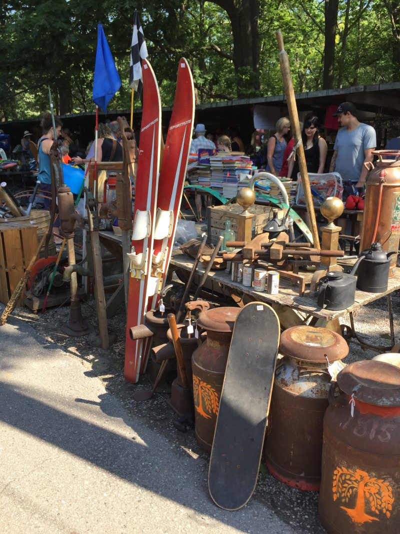 Yard Sale at the Market